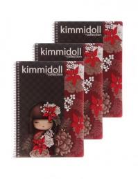 CADERNO KIMMIDOLL A4 210 FOLHAS