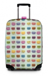 MACARONS SUITCASE COVER