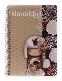 CADERNO KIMMIDOLL A5 210 FOLHAS